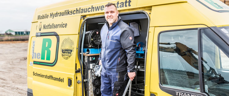 Mobile Hydraulikwerkstatt - Christoph Brunner