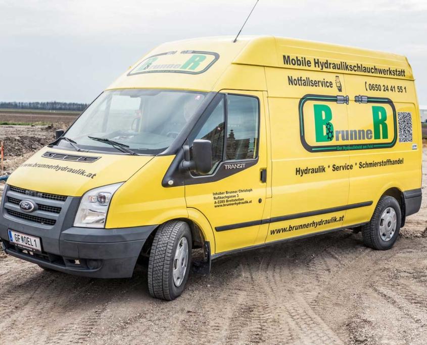 Mobile Hydraulikwerkstatt Notfallservice