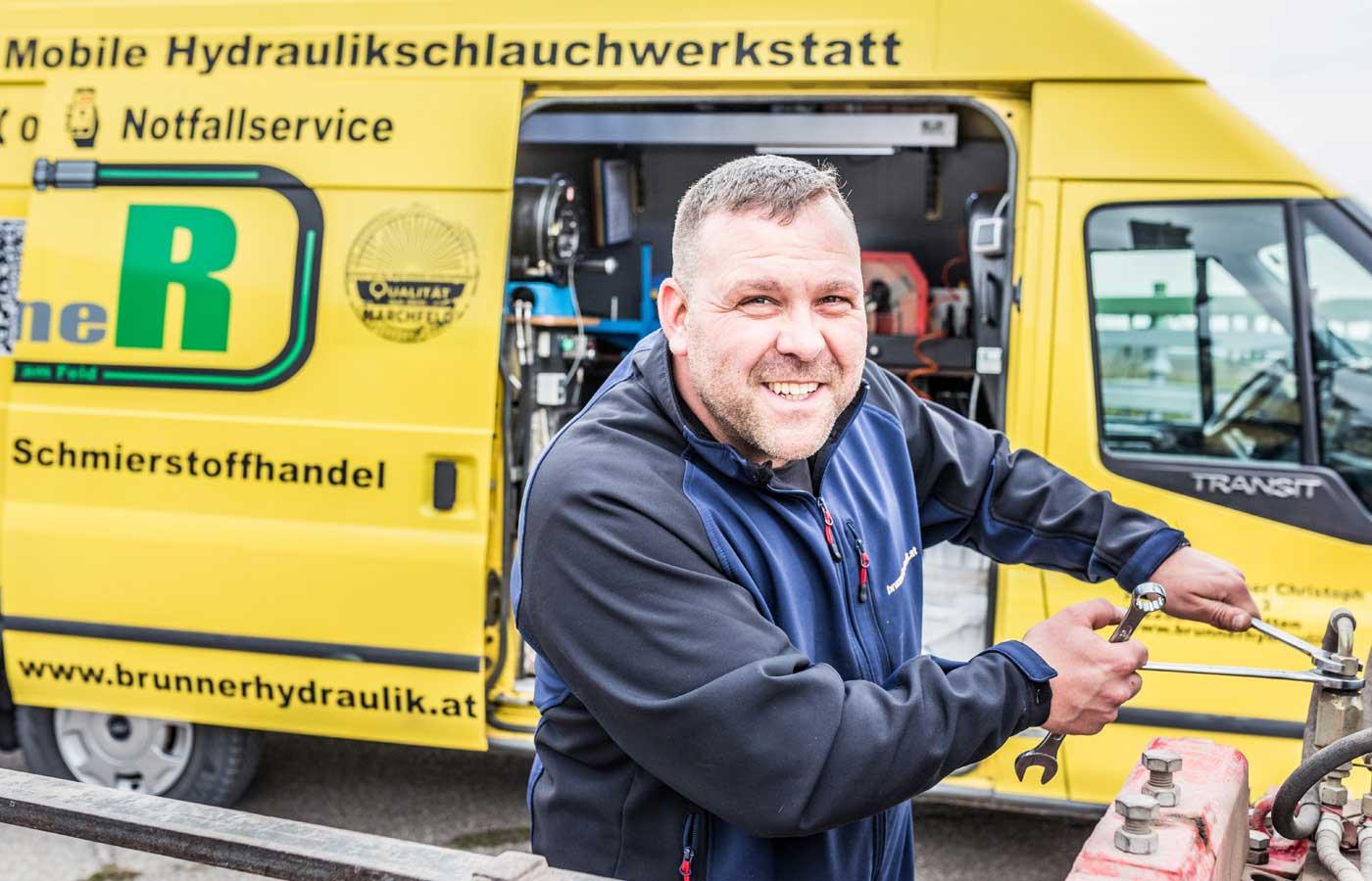 Brunner Hydraulik inhaber Christoph Brunner